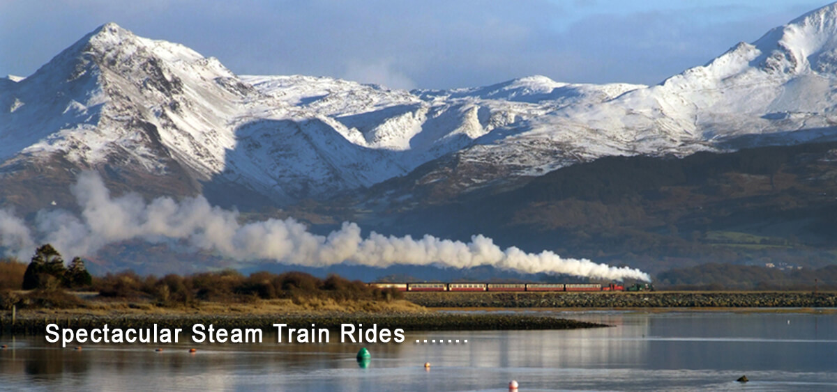 Ffestiniog & Welsh Highland Railway - stunning steam train rides through Snowdonia
