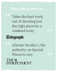 Sawdays Specail Escapes in TheTelegraph