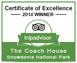 Certificate of Excellence Winner - Trip Advisor 2014