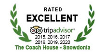 Rated Excellent 2015, 2016, 2017 2018, 2019, 2020 - Trip Advisor
