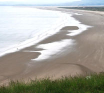 Harlech Beach - perfect for a romantic walk!