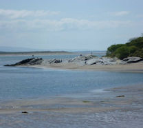 Morfa Bychan Beach 15 mins from The Coach House