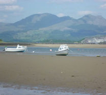 Mountains and Sea - Borth y Gest