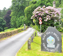Plas Tan y Bwlch entrance