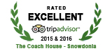 Rated Excellent 2015 & 2016 - Trip Advisor